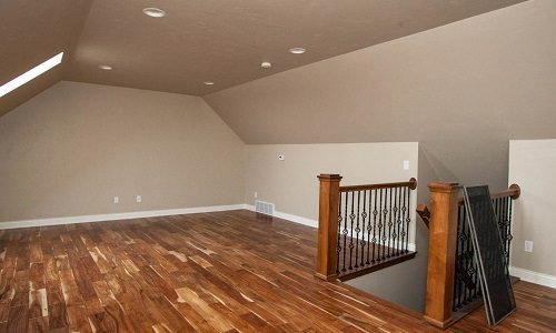 Painted walls & Stained Banisters