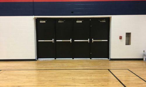 School Gym Doors & Walls Painting