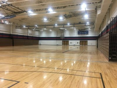 School Gym - Painted by CertaPro Painters of NE Wisconsin