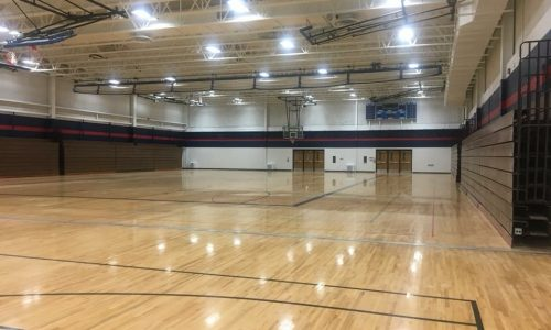 School Gym Painting Project
