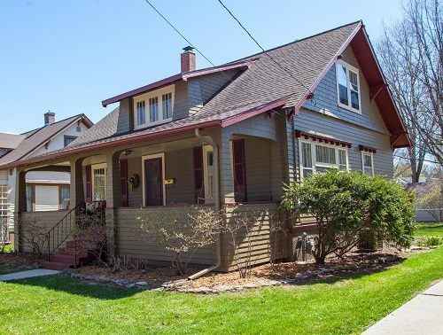exterior painting project in green bay