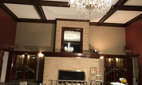 Ball Room Painting Project