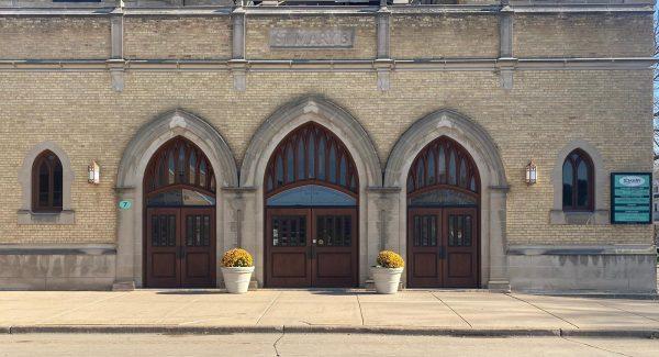 Repainted church