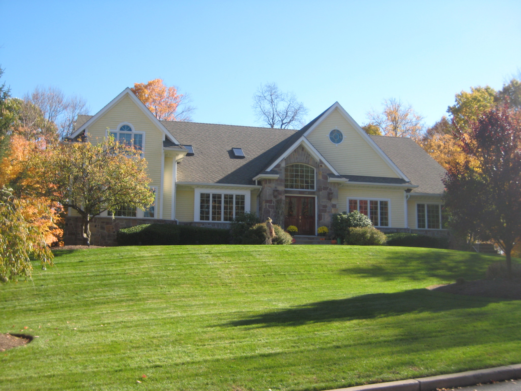 Exterior painting by CertaPro house painters in Franklin Lakes, NJ