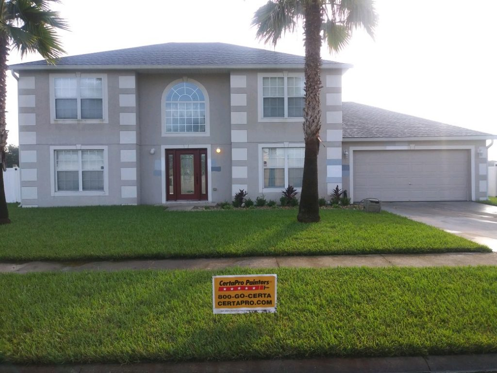 Before - Exterior house painting in Florida