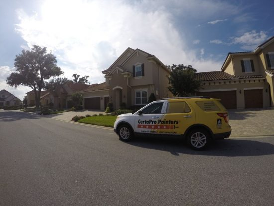 Expert exterior house painting in Jacksonville, FL by CertaPro Painters