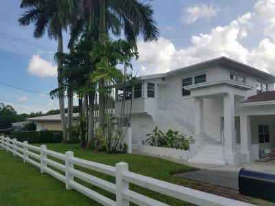 Exterior house painting by CertaPro painters in North Miami, FL