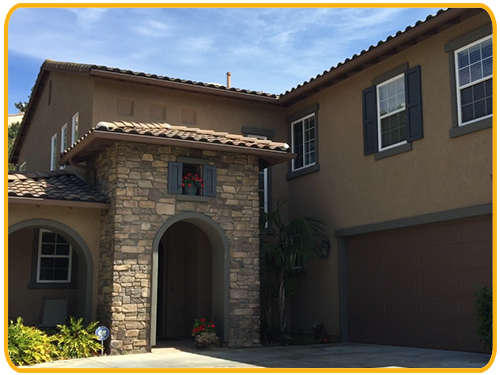 Exterior painting by CertaPro house painters in San Marcos, CA