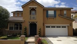 Exterior painting by CertaPro house painters in 4S Ranch.
