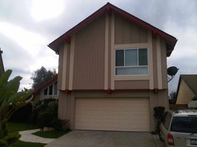 Exterior painting by CertaPro house painters in Rancho Penesquitos