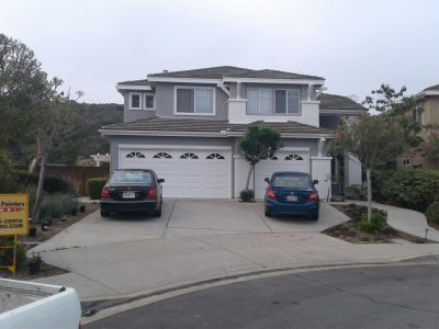 Exterior painting by CertaPro house painters in Scripps Ranch, Ca