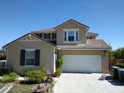 Exterior house painting by CertaPro Painters in Escondido, CA