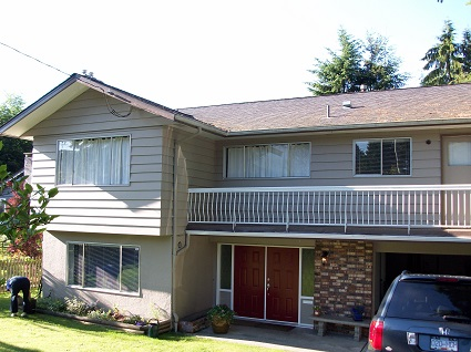 Exterior house painting in Burnaby by CertaPro Painters of North Vancouver