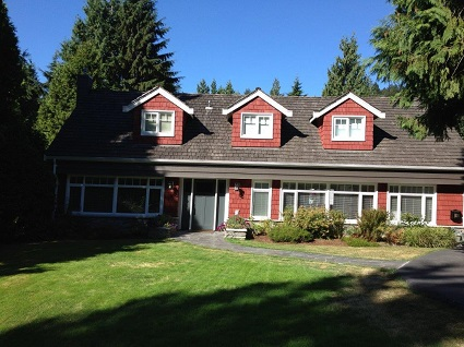 Exterior painting by CertaPro house painters in West Vancouver