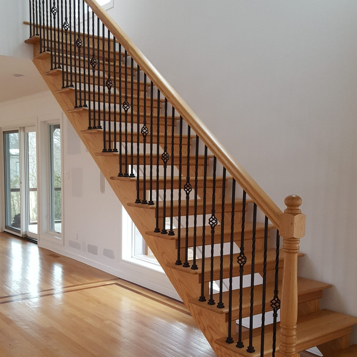 Residential Interior Staircase Before