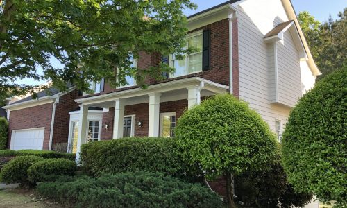 Brick Painting Project in Suwanee