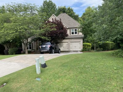 Exterior House Painting Project in Suwanee