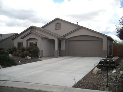 Exterior house painting by CertaPro painters in Sedona, AZ