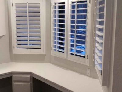 Interior Built In Desk Painted by CertaPro Painters of Norther AZ