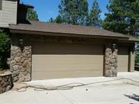 Garage Door Painted by CertaPro Painters of Northern AZ