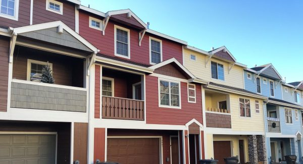 townhome painting project in flagstaff