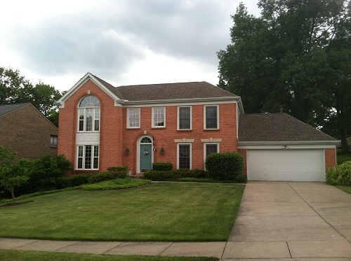 Exterior house painting by CertaPro painters in Villa Hills, KY
