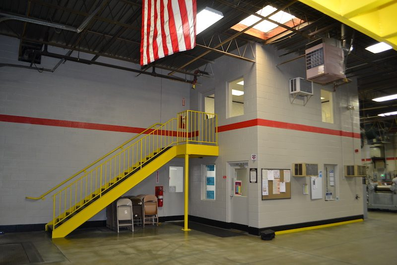 Warehouse painting by CertaPro Commercial Painters in Northern Kentucky