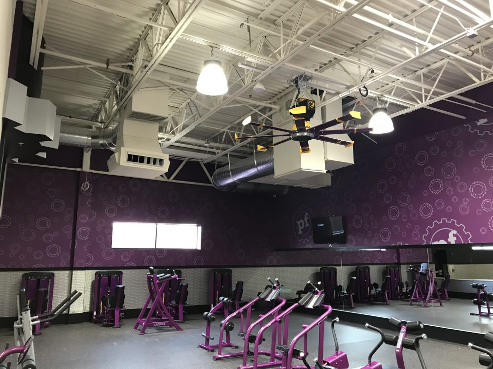 Planet Fitness – Wall coverings, Full Interior and Ceiling Painting