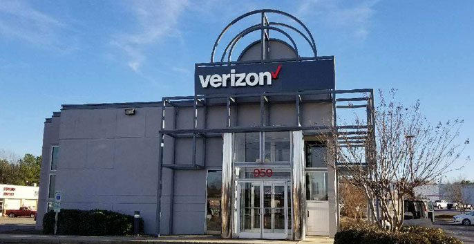 Verizon Wireless Exterior Painting Job CertaPro Painters of North Raleigh