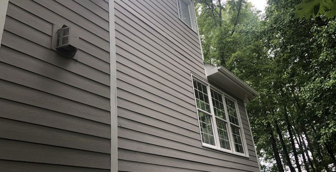 Exterior House Painting North Raleigh