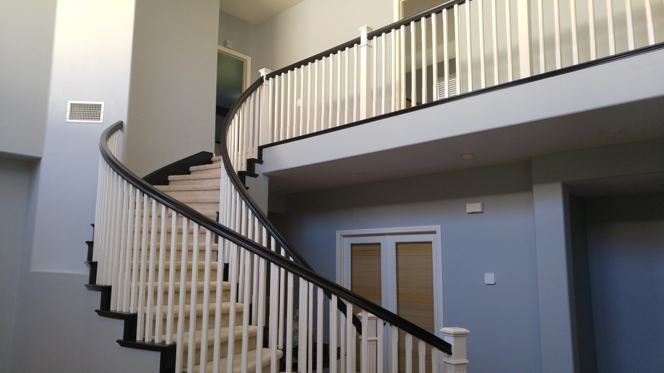 Interior staircase painting by CertaPro house painters in Stevenson Ranch, CA