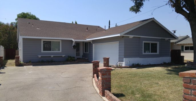 Exterior house painting by CertaPro painters in Chatsworth, CA