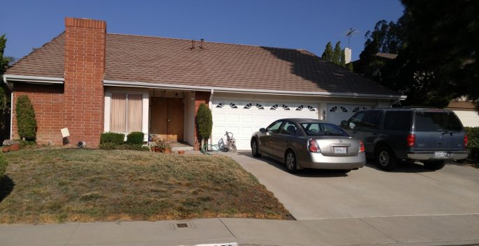 Exterior house painting by CertaPro painters in Granada Hills, CA