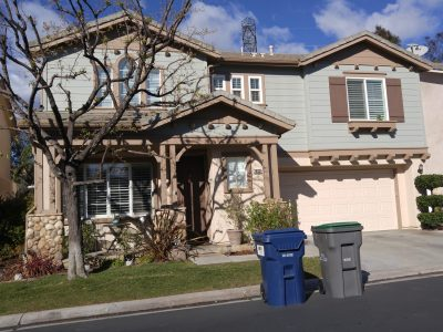 Exterior house painting by CertaPro painters in Stevenson Ranch, CA