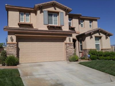 Exterior painting by CertaPro house painters in Stevenson Ranch, CA