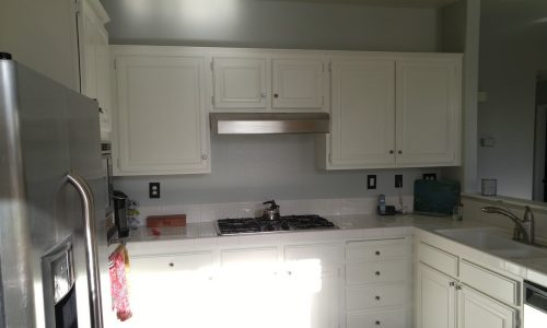 Cabinet Painting Project