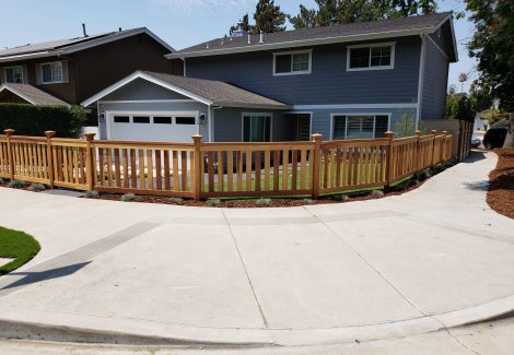 Studio City House Painting & Fence Staining Project