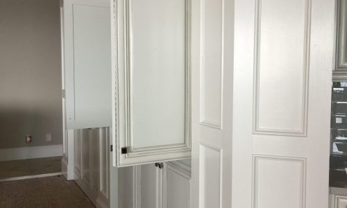 Interior Cabinet Painting in Santa Rosa Beach