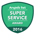 Norwalk, CT Angies List Service Award 2016