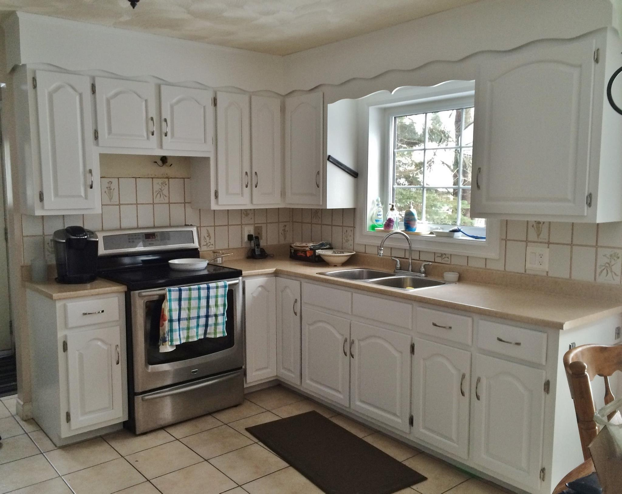 Kitchen Cabinet Before & After After