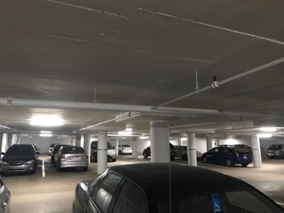 CertaPro Commercial Painters in Halifax, NS - parking structure