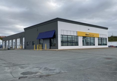 Herc Rentals | Commercial Painting Project - Exterior
