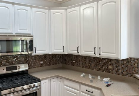 Residential Interior Painting, Kitchen Cabinets