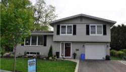 Exterior house painting by CertaPro house painters in Burlington, ON