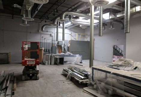 Commercial Warehouse/laboratory Painting Project