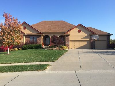 Exterior house painting by CertaPro painters in Elkhorn, NE