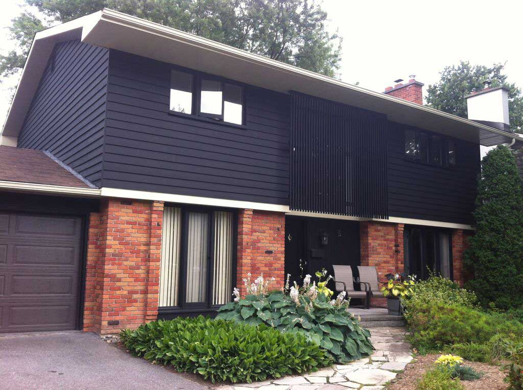 Exterior painting by CertaPro house painters in Kanata