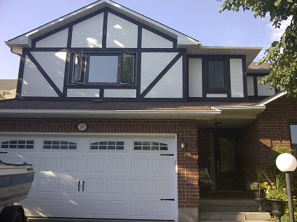 Exterior painting by CertaPro house painters in Barrhaven