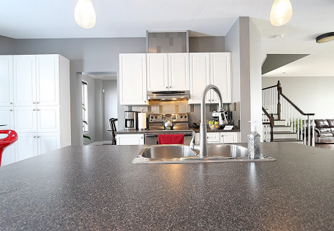 Interior kitchen painting by CertaPro house house painters in Ottawa, ON