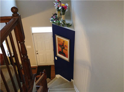 Interior painting by CertaPro house painters in Pikesville